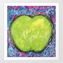 GREEN APPLE DREAM Art Print