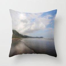 Playa Dominical Throw Pillow