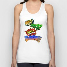 Comic Sounds Unisex Tank Top