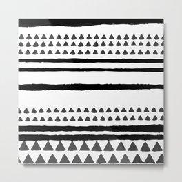 handrawn lines Metal Print