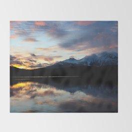 Dreamy Jasper Sunset Throw Blanket