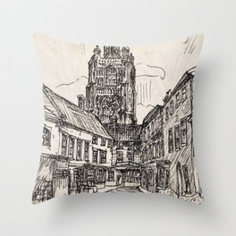 St Peter Mancroft Church Throw Pillow