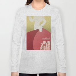 The sun also rises, Fiesta, Ernest Hemingway, classic book cover Long Sleeve T-shirt