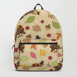 Thanksgiving Turkey pattern Backpack