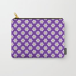 A Lot of Daisies - Purple Carry-All Pouch