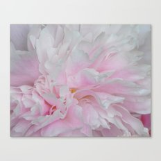 LOVELY PINK PEONY Canvas Print
