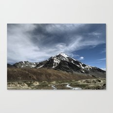 Majesty...the Mountain..! Canvas Print