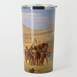 """Jean-Léon Gérôme """"Ave Caesar Morituri te Salutant"""" Travel Mug"""