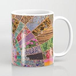 Shitty pink colored Clown Spiderweb Coffee Mug