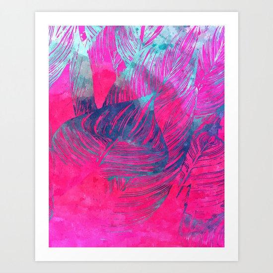 Hot n Drunk Pink #society6 #decor #fashion #buyart Art Print