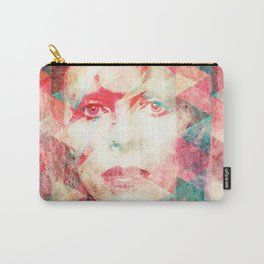 Bowie abstraction Carry-All Pouch