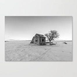 Frontier Finality Canvas Print