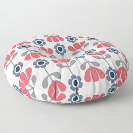 Simple flowers Floor Pillow