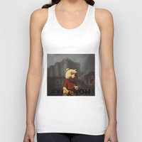 bastille Tank Tops featuring Winnie & Bastille by consequence