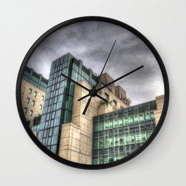 Secret Building Wall Clock