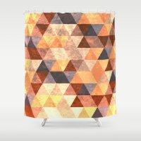 diamonds Shower Curtains featuring Diamonds by Tony Vazquez