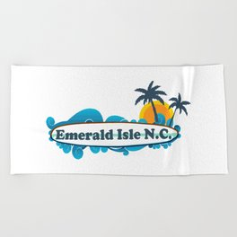 Emerald Isle - North Carolina. Beach Towel