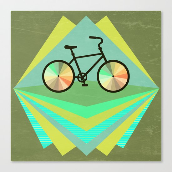 wanna ride my bicycle Canvas Print