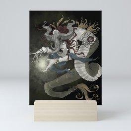 The sea witch Mini Art Print