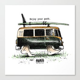 Combi walker Canvas Print