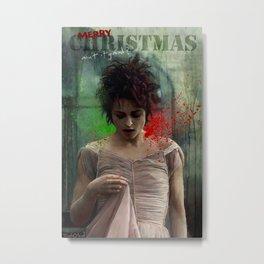 Merry Christmas, Marla Singer Metal Print