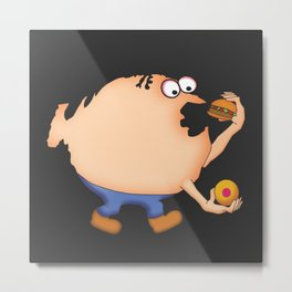 Fat Nation Metal Print