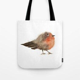 Fuzzy Bird Tote Bag