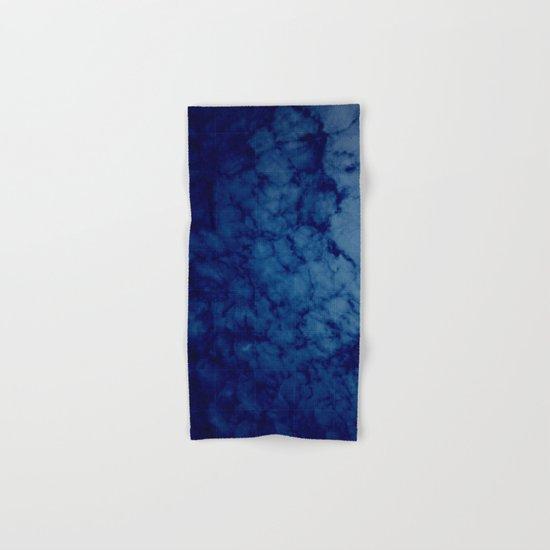Sky blue print Hand & Bath Towel