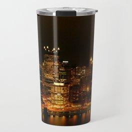 Pittsburgh Lights Travel Mug