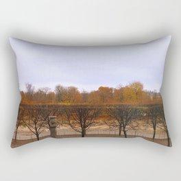 Autumn in the city Rectangular Pillow