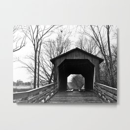 Glenarm Bridge Metal Print