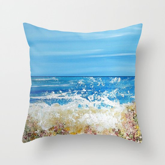 Coral Reef 2 Throw Pillow