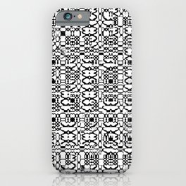 Black and White Mesh iPhone Case