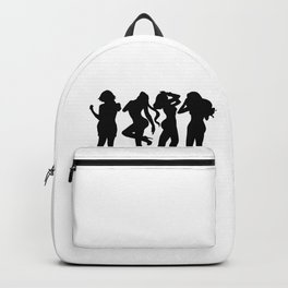 Good Girls go to heaven Bad Girls go to my bed Backpack