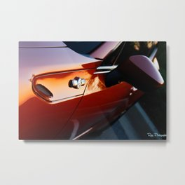 Scion FR-S lava Metal Print