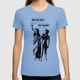 Feminism. Libertad y David. We can do it !. Power of woman T-shirt