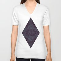 tatoo V-neck T-shirts featuring Tatoo weft by NumericEric