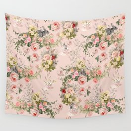 Pardon Me There's a Bunny in Your Tea Wall Tapestry