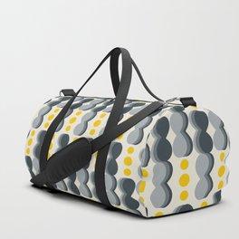 Uende Grayellow - Geometric and bold retro shapes Duffle Bag