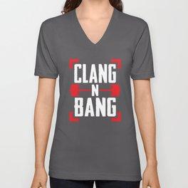 Clang N Bang Unisex V-Neck