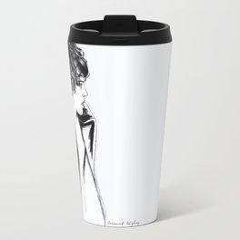 Harry coat sketch Travel Mug