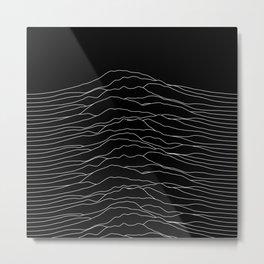Space Pulse Metal Print