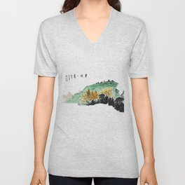 Spring of Pin-Din Unisex V-Neck