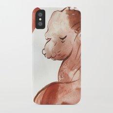 Red iPhone X Slim Case