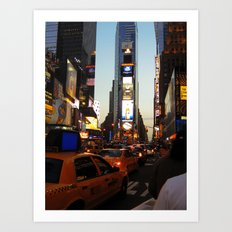 New York Streets. Art Print