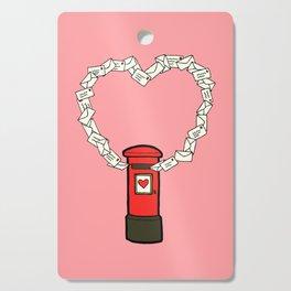 Love Letters Cutting Board