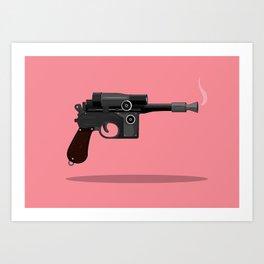 Blaster Art Print