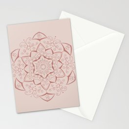 Jin Pink Mandala Stationery Cards