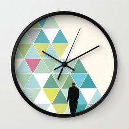 Obstacle Wall Clock