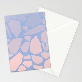 Pink gems Stationery Cards